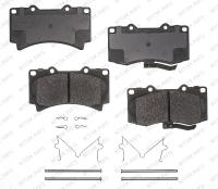 Front Semi Metallic Pads RSD1119MH