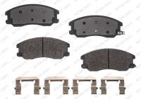 Front Semi Metallic Pads RSD1264MH
