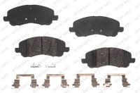 Front Semi Metallic Pads RSD1285MH