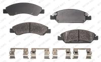 Front Semi Metallic Pads RSD1367MH