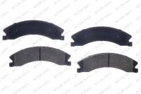 Front Semi Metallic Pads RSD1411MH