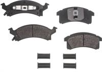 Front Semi Metallic Pads RSD506MH