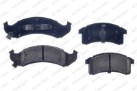 Front Semi Metallic Pads RSD623M