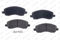 Front Semi Metallic Pads RSD866MH