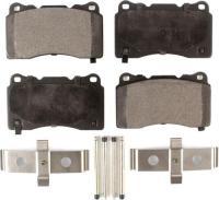 Front Semi Metallic Pads PPF-D1001