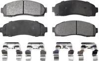 Front Semi Metallic Pads PPF-D833