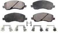 Front Semi Metallic Pads PPF-D866