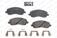 Front Semi Metallic Pads D866M