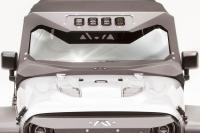 Front Vi-Cowl Visor & Cowl Combination 4 Light Insert JK3021-1