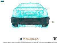 Rear Bumper Cover MB1100369