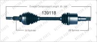 Left New CV Complete Assembly 139118