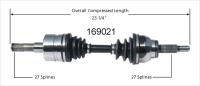 Left New CV Complete Assembly 169021