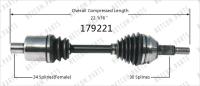 Left New CV Complete Assembly 179221