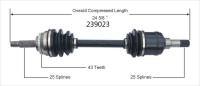 Left New CV Complete Assembly 239023