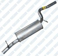 Muffler And Pipe Assembly 54599