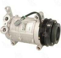 New Compressor And Clutch 58901
