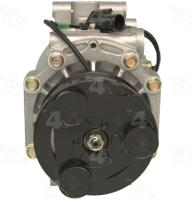 New Compressor And Clutch 78483