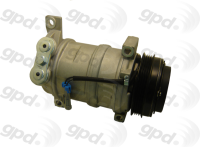 New Compressor And Clutch 6511396