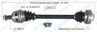 New CV Shaft 129075
