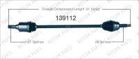 New CV Shaft 139112