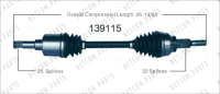 New CV Shaft 139115