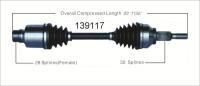 New CV Shaft 139117