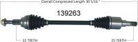 New CV Shaft 139263