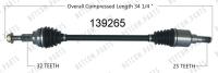 New CV Shaft 139265