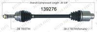 New CV Shaft 139276