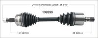 New CV Shaft 139296