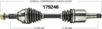 New CV Shaft 179246