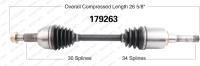 New CV Shaft 179263