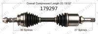 New CV Shaft 179297