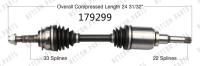 New CV Shaft 179299
