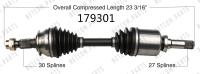 New CV Shaft 179301