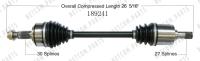 New CV Shaft 189241