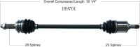 New CV Shaft 189701