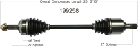 New CV Shaft 199258