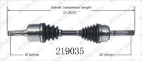 New CV Shaft 219035