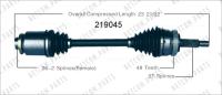New CV Shaft 219045
