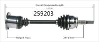 New CV Shaft 259203