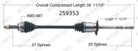 New CV Shaft 259353