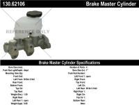 New Master Cylinder 130.62106