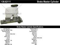 New Master Cylinder 130.62111