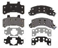 Front Premium Semi Metallic Pads SP785SBH