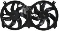 Radiator And Condenser Fan Assembly
