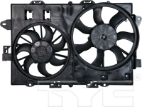 Radiator And Condenser Fan Assembly 621670