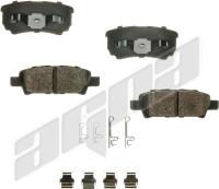 Rear Ceramic Pads CXD1037