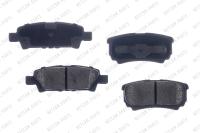 Rear Ceramic Pads RSD1037CH