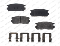 Rear Ceramic Pads RSD1275CH